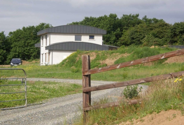 Curved Roof House Wexford